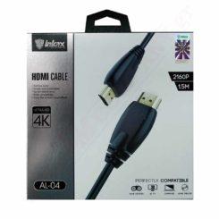ΚΑΛΩΔΙΟ AL-04 HDMI v2.0 1.5m (Black)