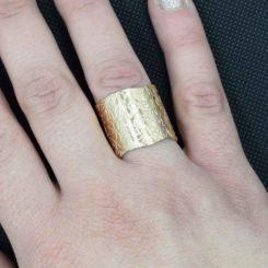 Δαχτυλίδι Stainless Steel Gold
