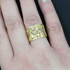 ΔΑΧΤΥΛΙΔΙ Stainless Steel gold