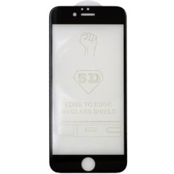 MOBILE SCREEN PROTECTOR FULL GLUE / COVER FOR iPhone 6S Black