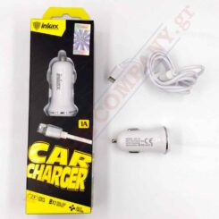 CAR CHARGER / THE CD-13-IP 1A 2USB & amp; Cable. 1m