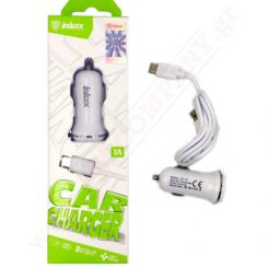 CHARGER CAR / OF CD-13-Type C 1A 2USB & amp; Cable. 1m