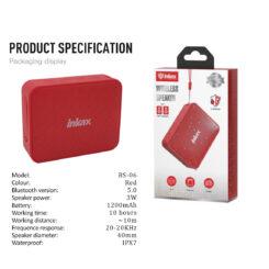 ΗΧΕΙΟ Bluetooth BS-06 (Red)
